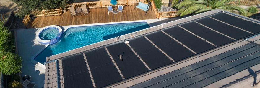 Le chauffage solaire  piscine
